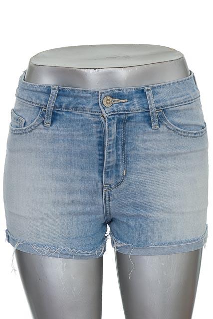 Short Jean color Azul - Hollister