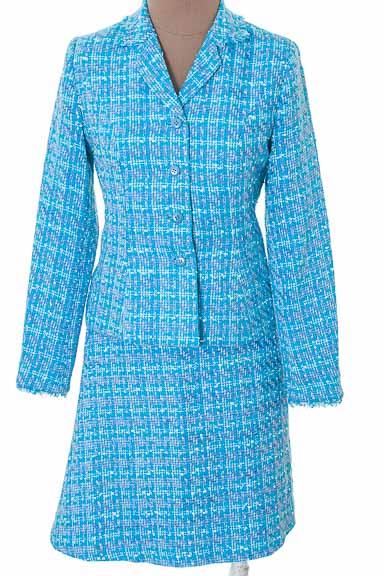Conjunto Conjunto de Falda color Azul - Bassler