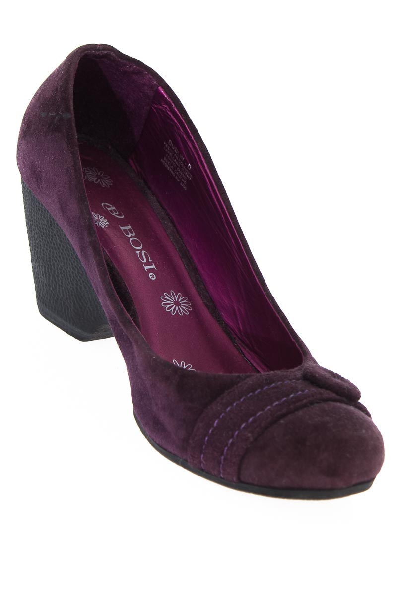 Zapatos Tacón color Morado - Bosi