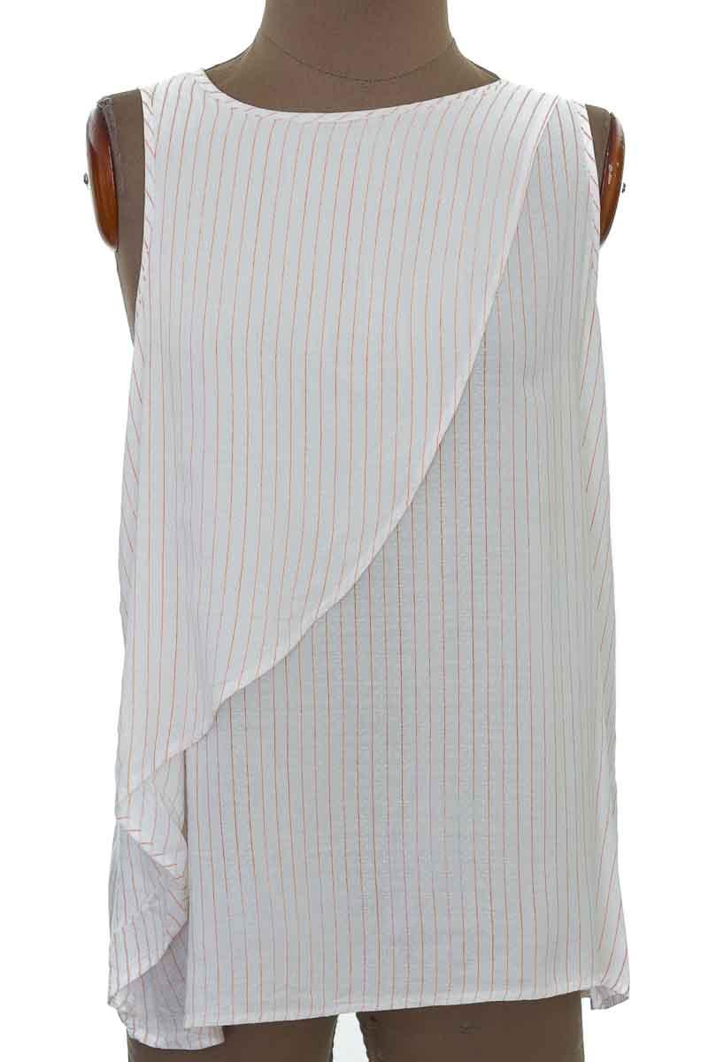 Blusa color Blanco - Eva Castillo