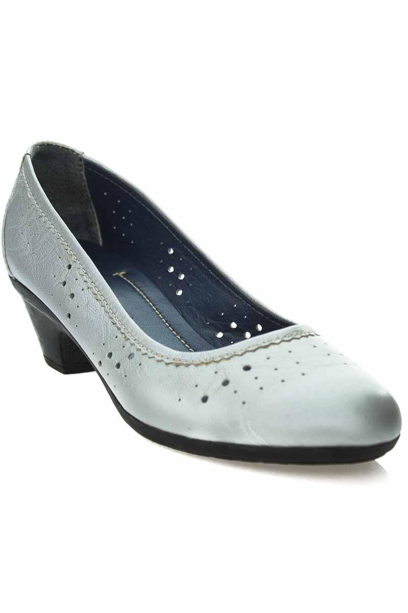 Zapatos color Plateado - PATTY
