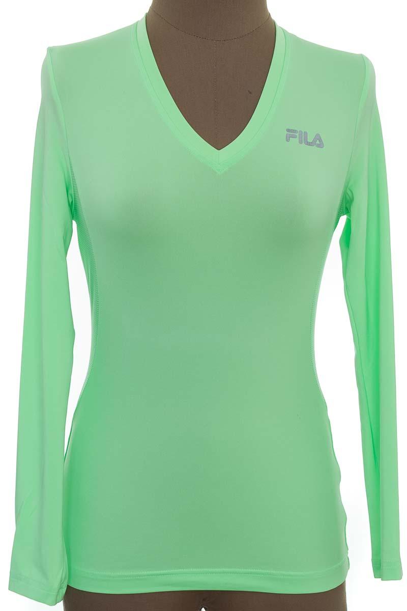 Ropa Deportiva / Salida de Baño Camiseta color Verde - Fila