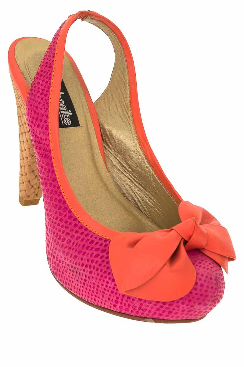 Zapatos Tacón color Fucsia - Bon Bonite