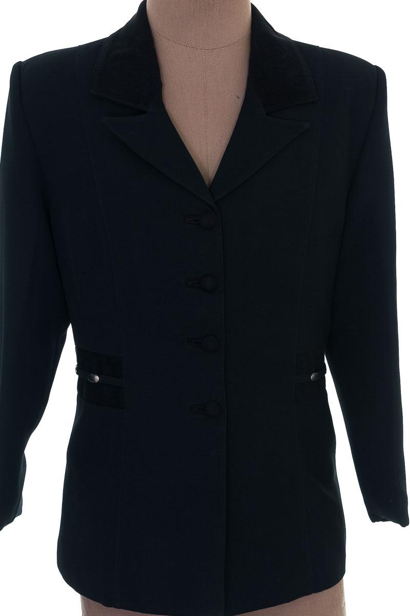 Chaqueta / Abrigo color Negro - Tory Moda