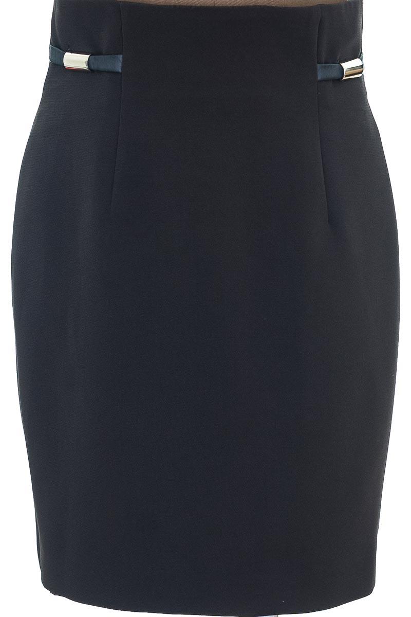 Falda color Gris - Carolina Endara