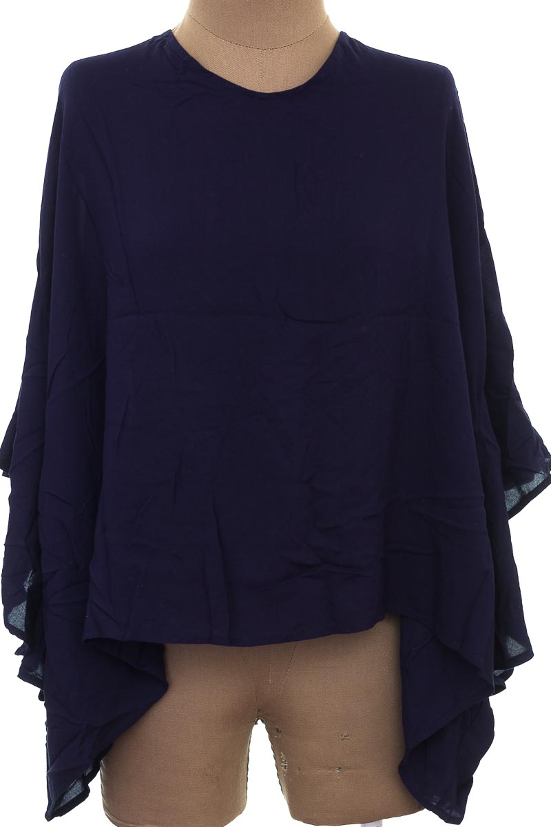 Blusa color Azul - Blanc