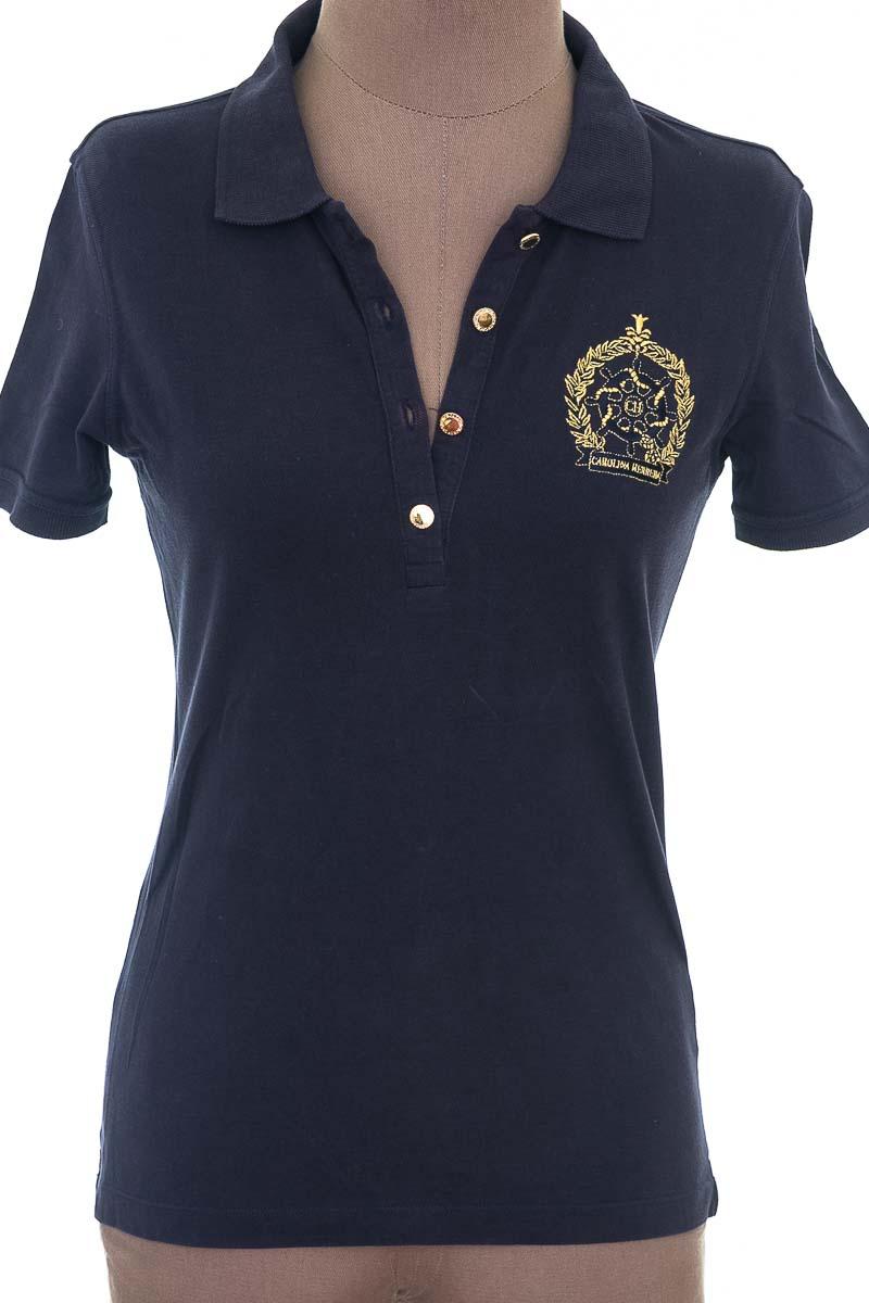 Top / Camiseta color Azul - Carolina Herrera