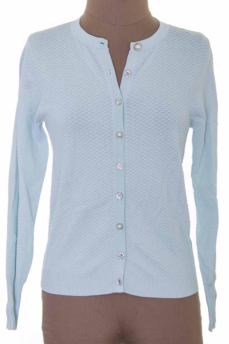Sweater color Azul - Zara