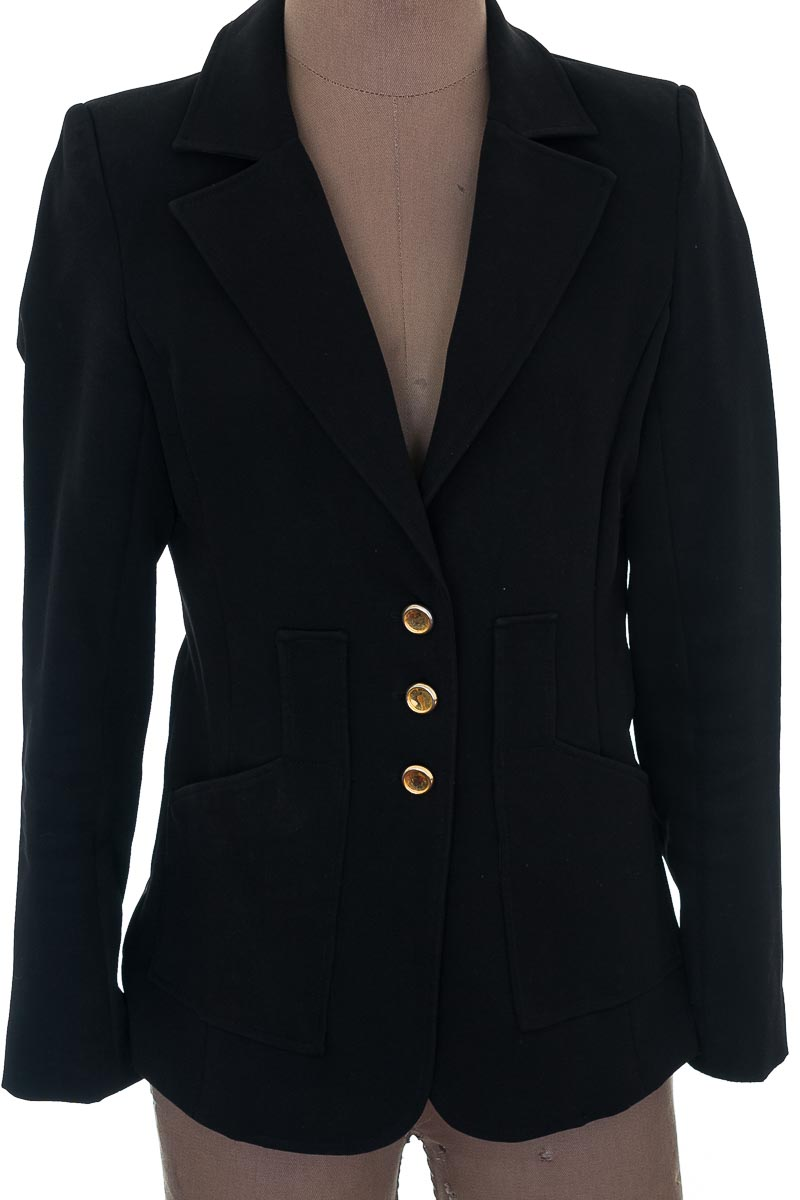 Chaqueta / Abrigo color Negro - ELA