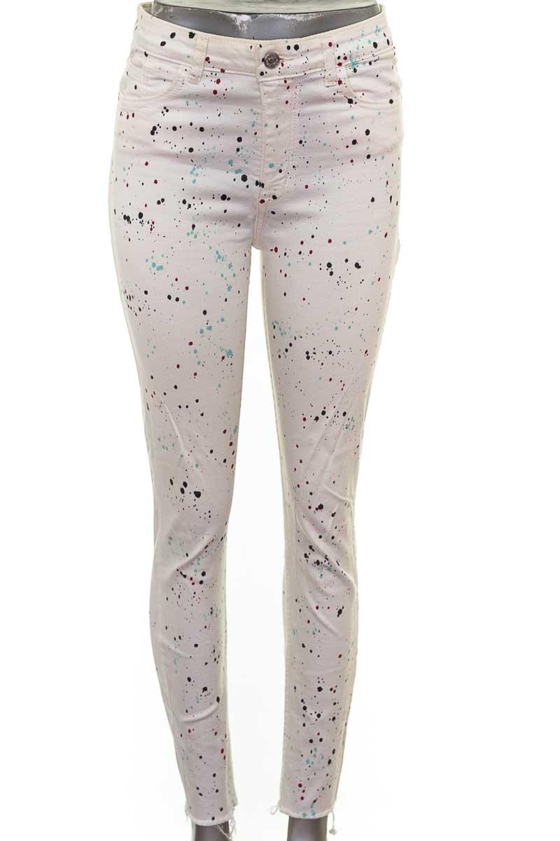 Pantalón color Blanco - MNG