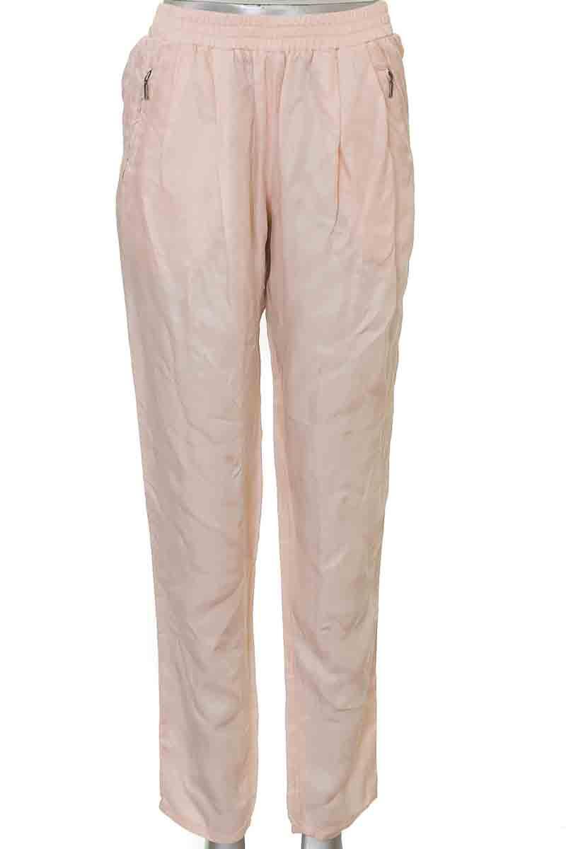 Pantalón Casual color Salmón - Promod