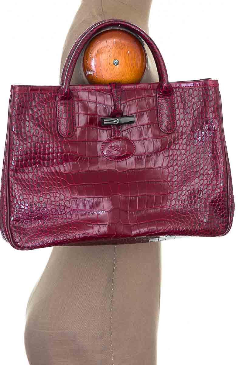 Cartera / Bolso / Monedero color Vinotinto - Longchamp