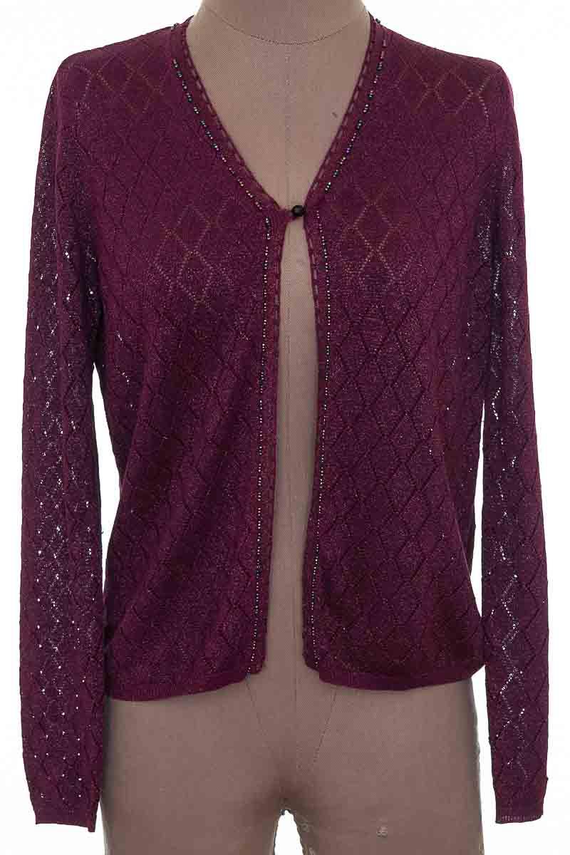 Sweater color Vinotinto - Valerie Stevens