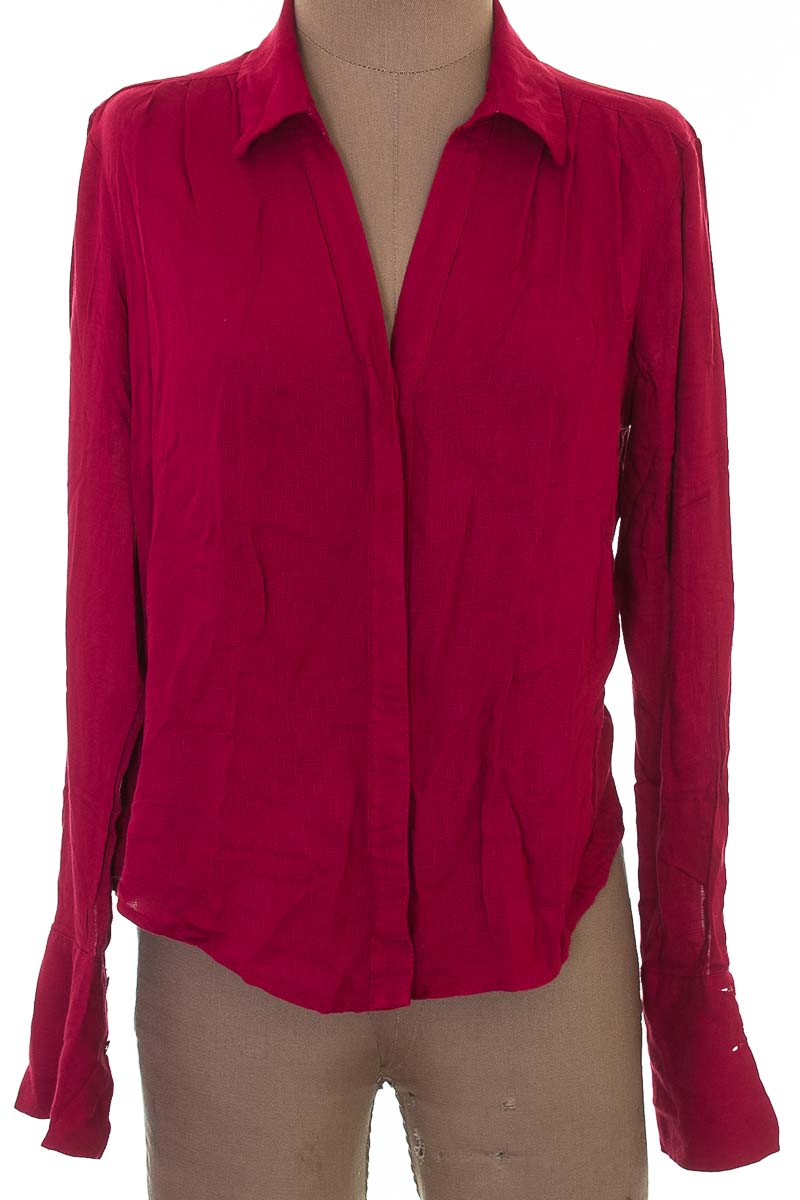 Blusa color Vinotinto - Esprit