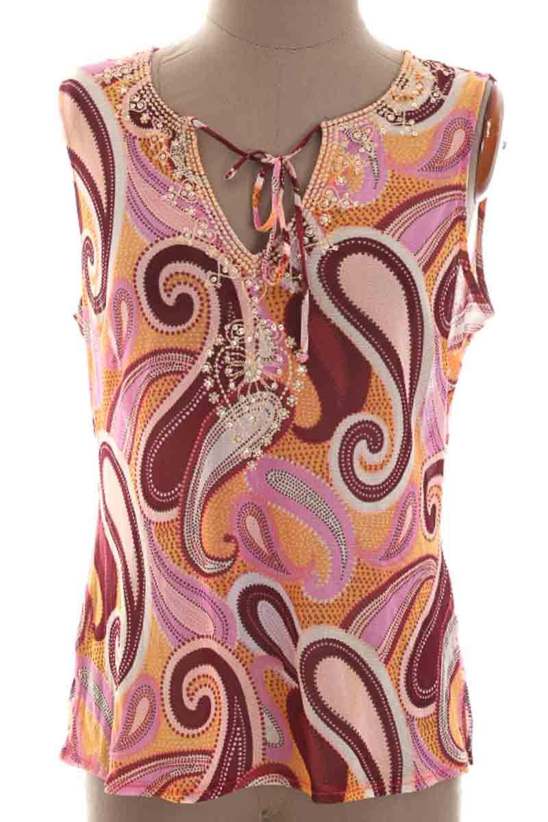 Blusa color Estampado - New York & Company