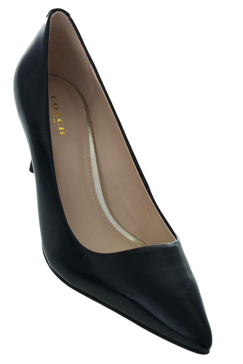 Zapatos Tacón color Negro - Coach