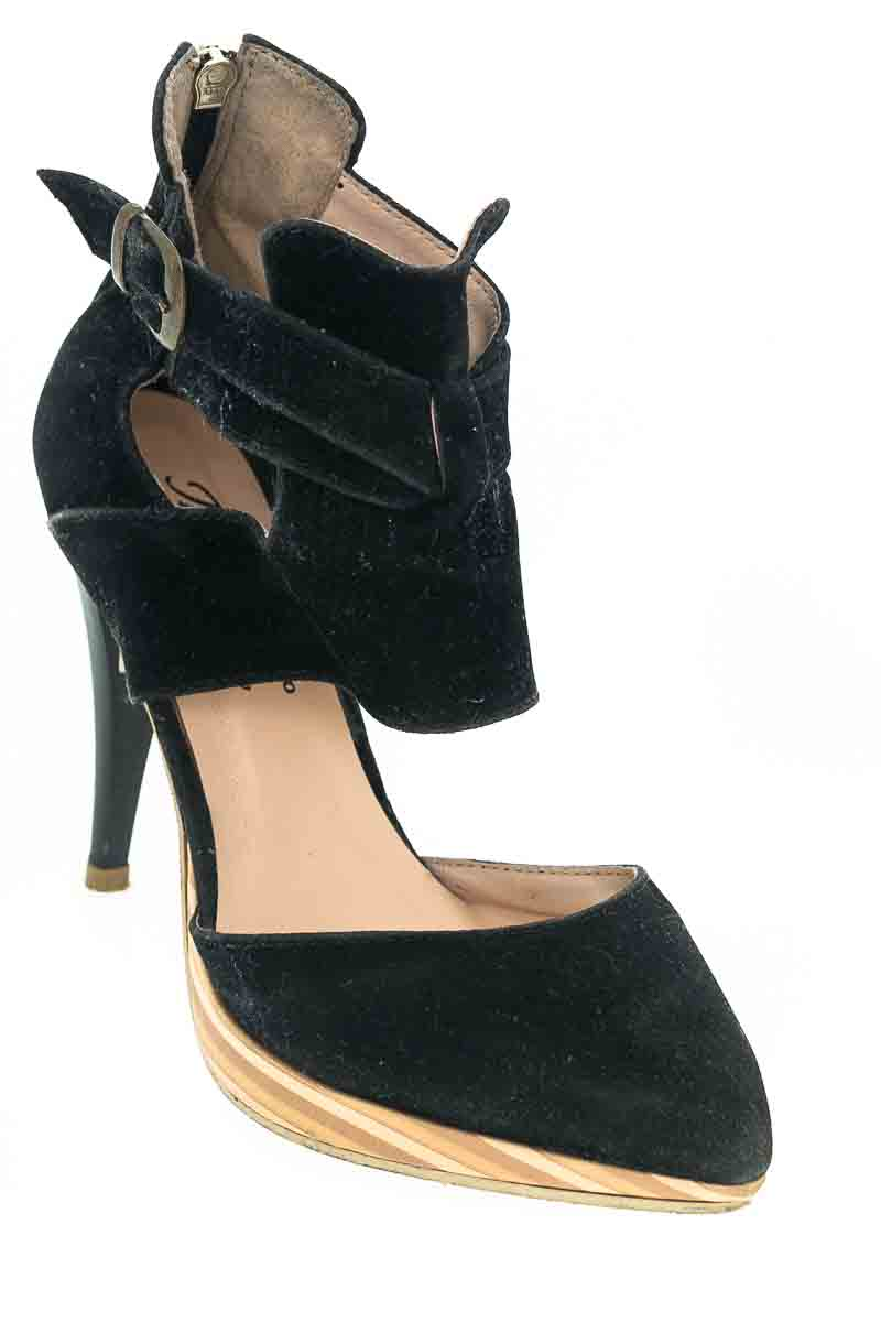 Zapatos Tacón color Negro - Calzado Innovacion