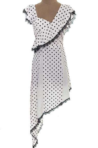 Vestido / Enterizo Casual color Blanco - Boohoo