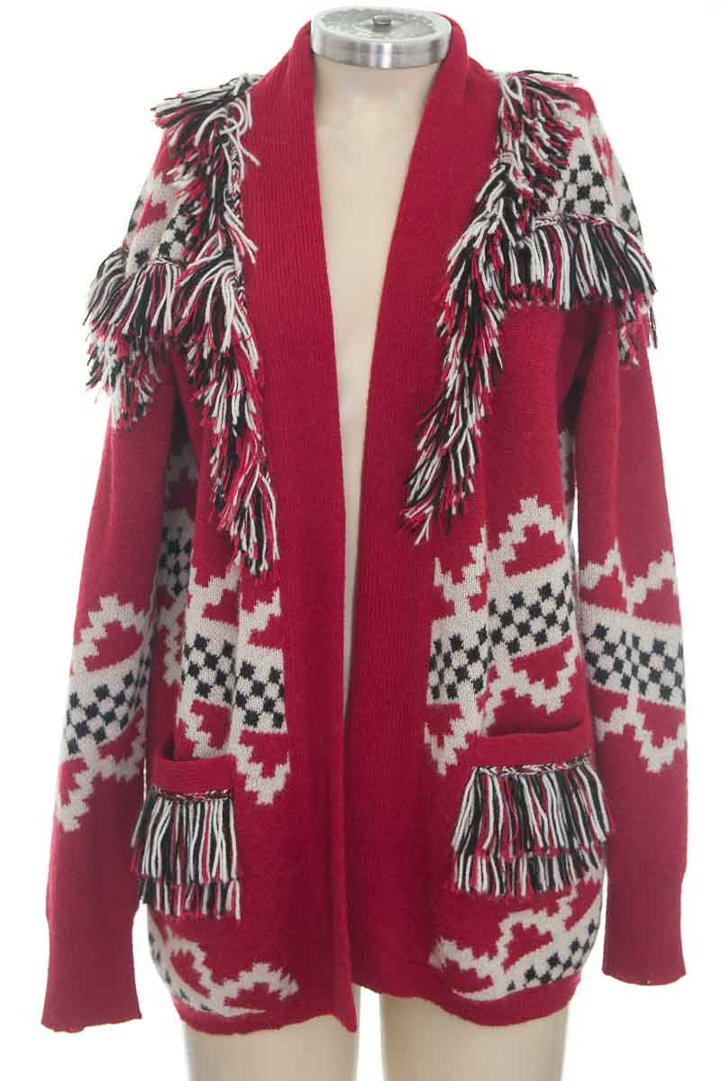 Sweater color Rojo - Rapsodia