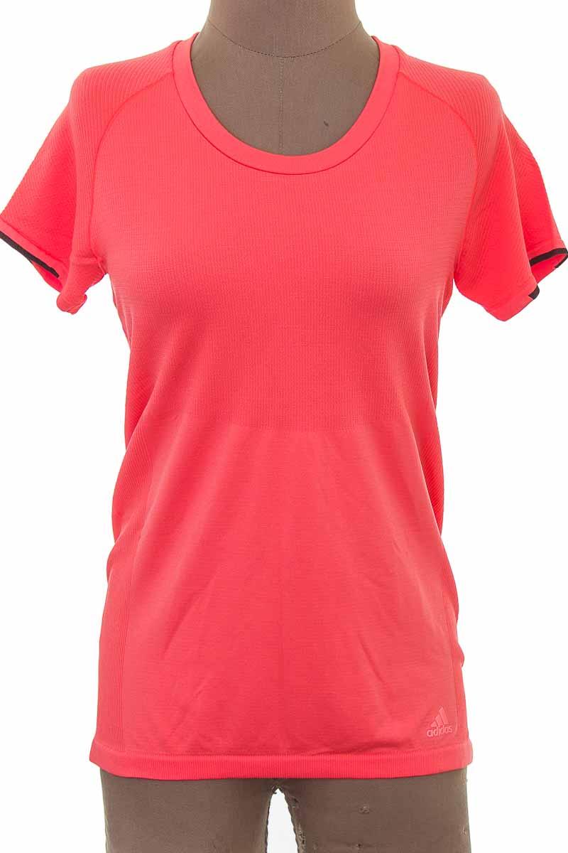 Ropa Deportiva / Salida de Baño Camiseta color Naranja - Adidas