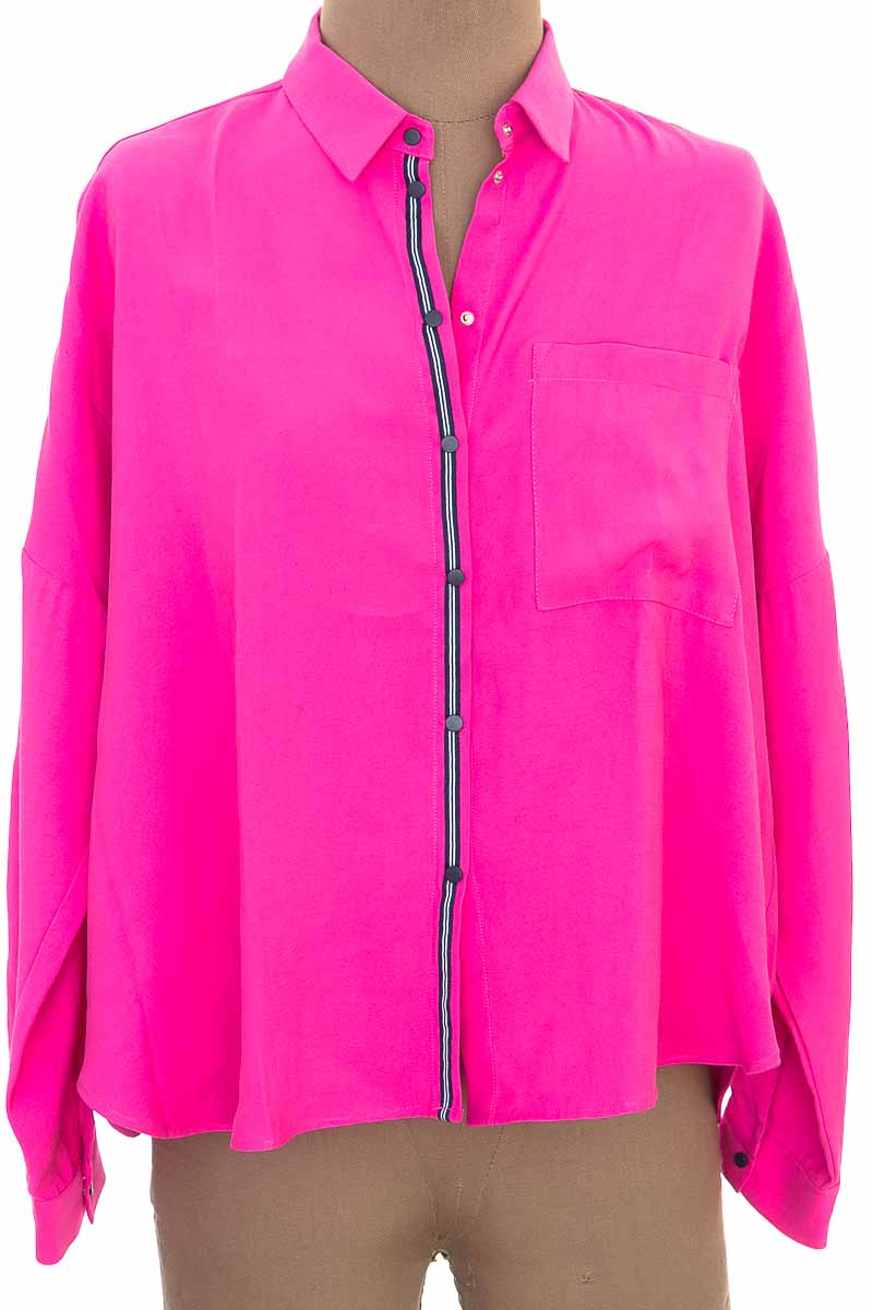 Blusa color Rosado - Zara