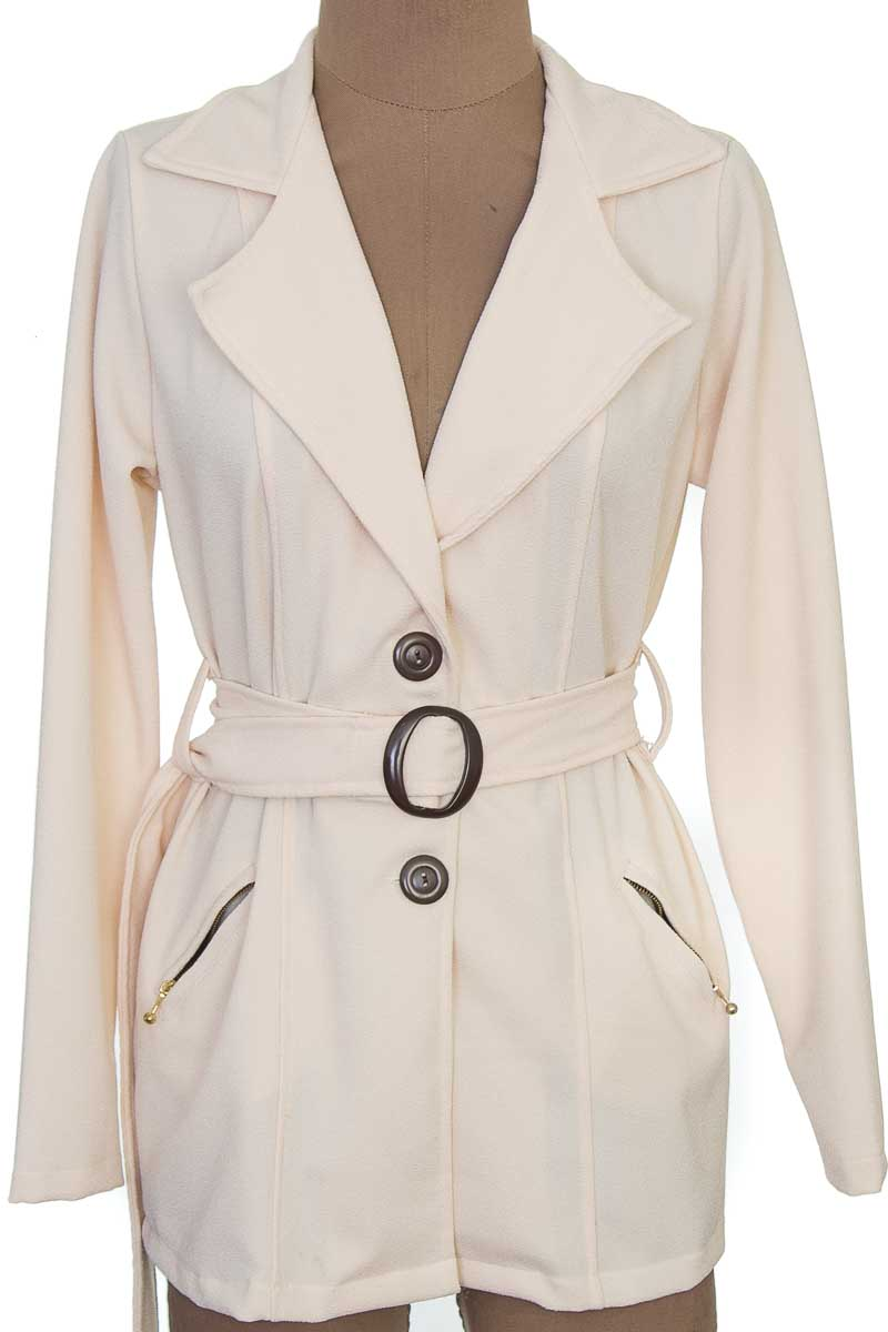 Chaqueta / Abrigo color Beige - Sweet