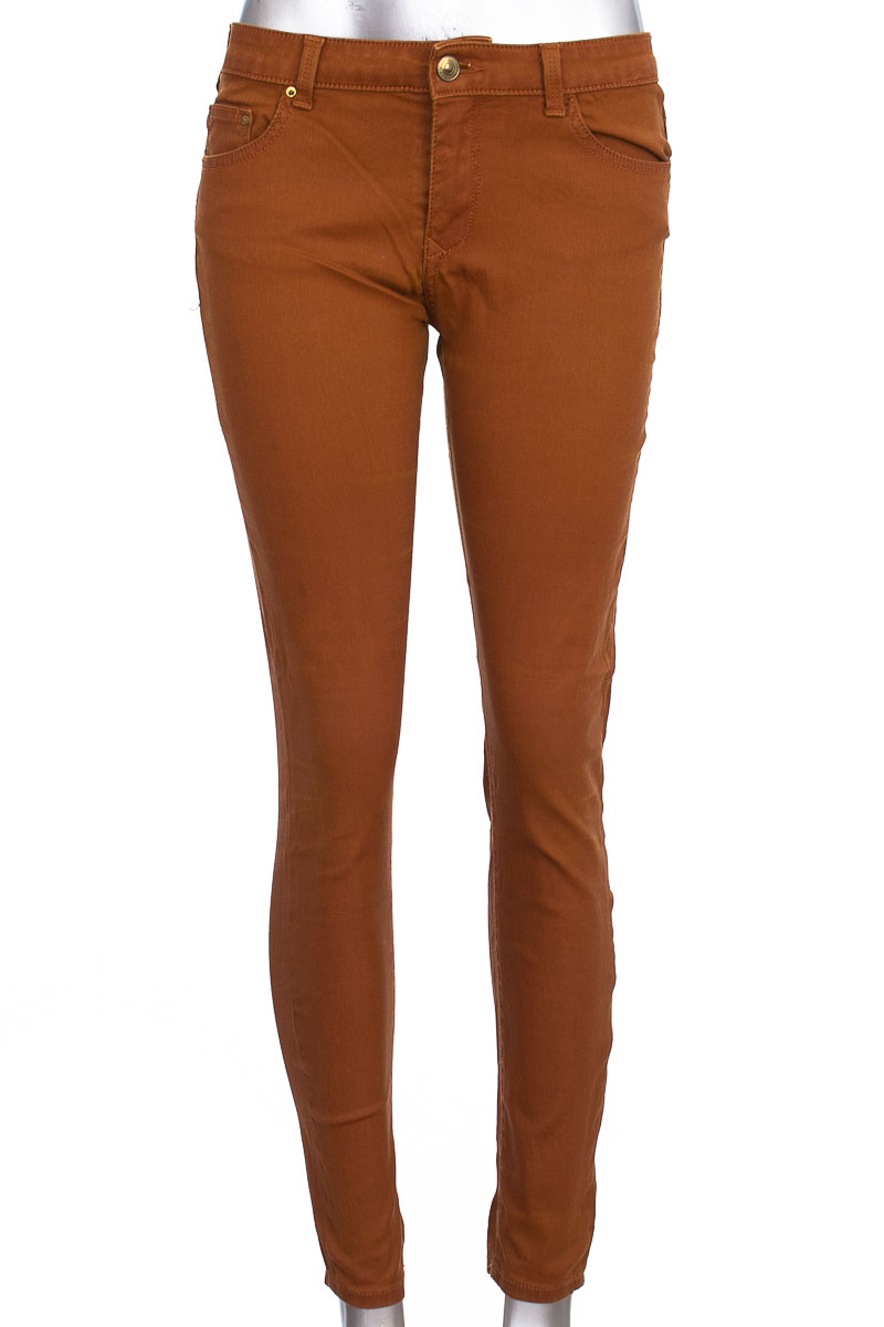 Pantalón Jeans color Mostaza - Leara Woman