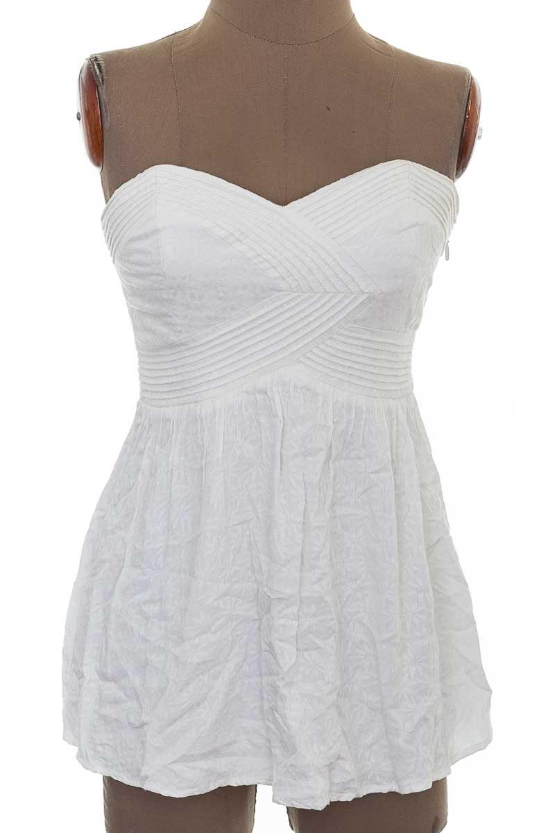 Vestido / Enterizo Casual color Blanco - Kimchi Blue
