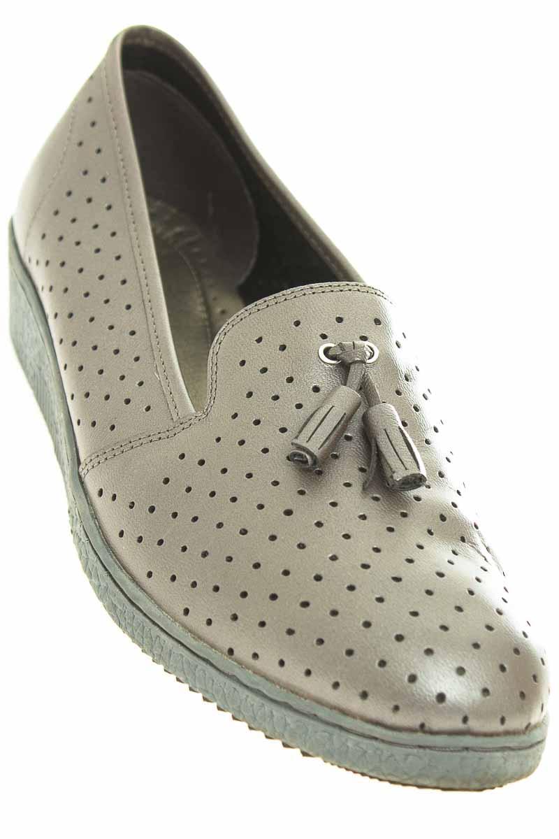 Zapatos Tenis color Gris - Romulo