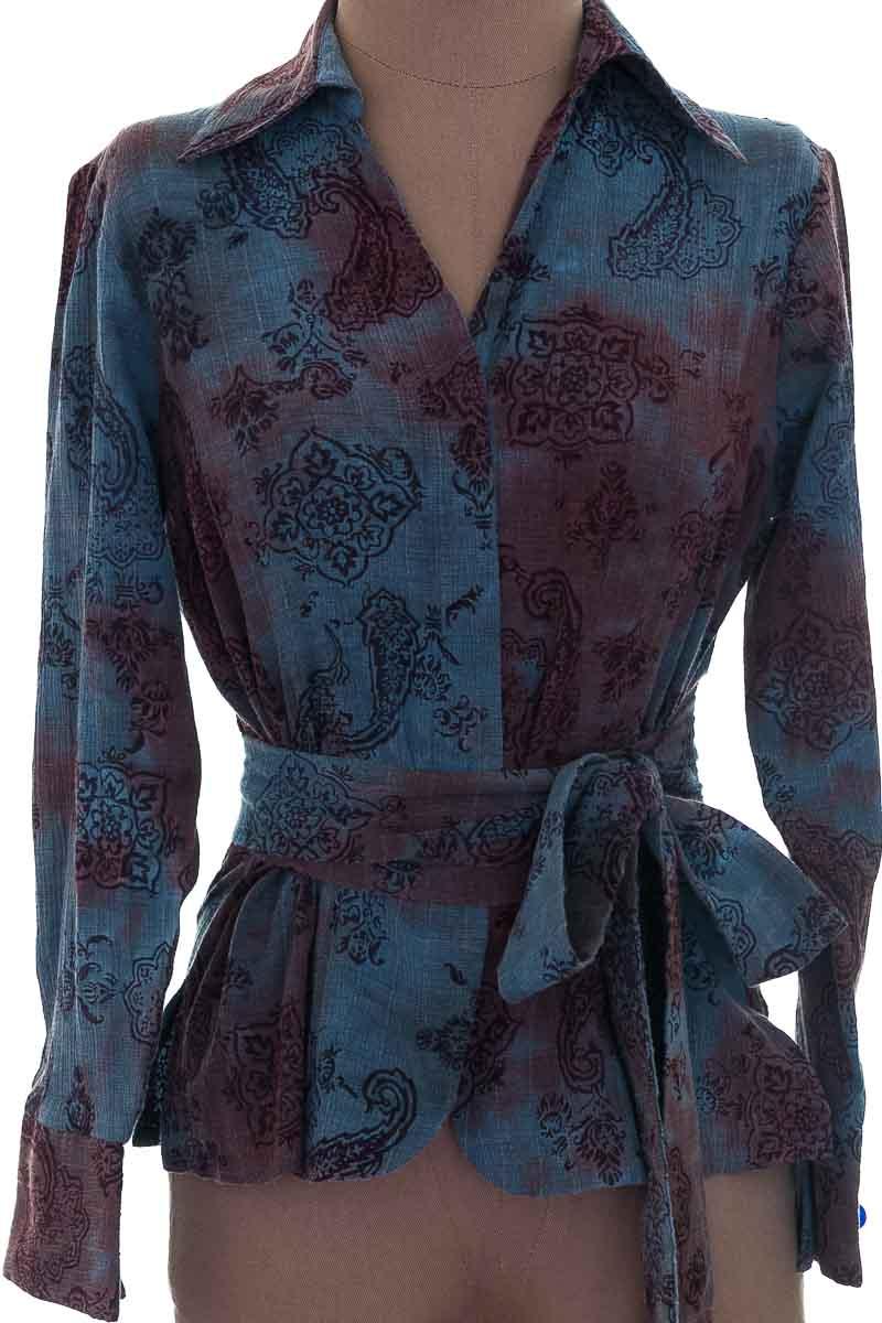 Blusa color Azul - Sandia Fashion