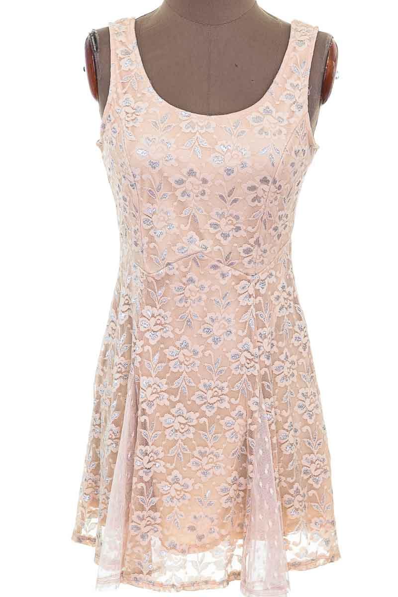 Vestido / Enterizo Casual color Rosado - Lily Rose