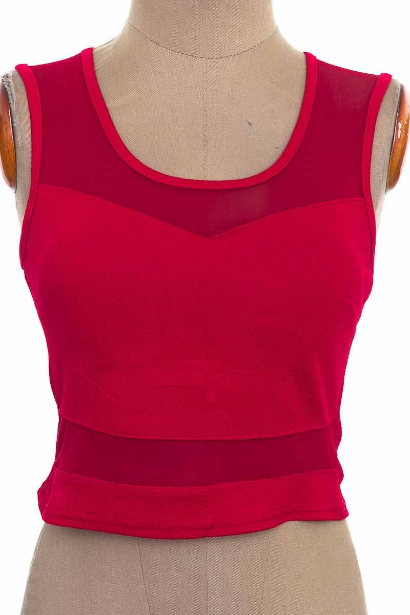 Top / Camiseta color Rojo - Magic
