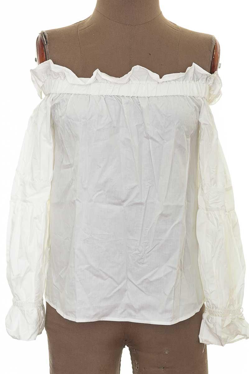 Blusa color Blanco - ADIOR