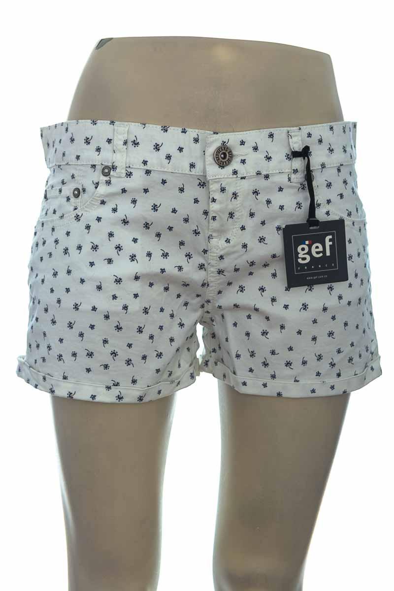 Short color Blanco - Gef