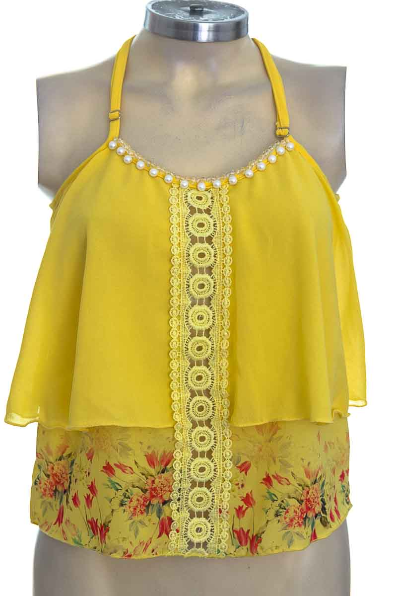 Top / Camiseta color Amarillo - D´Yaboo