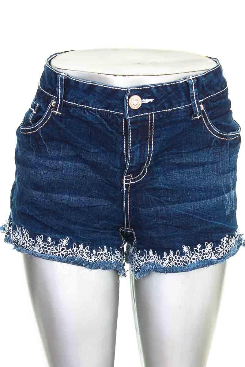 Short Jean color Azul - Amethyst Jeans