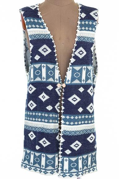 Sweater color Azul - Punto Fino