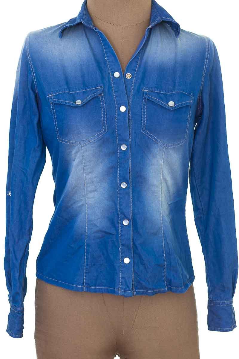 Blusa color Azul - MARIA E