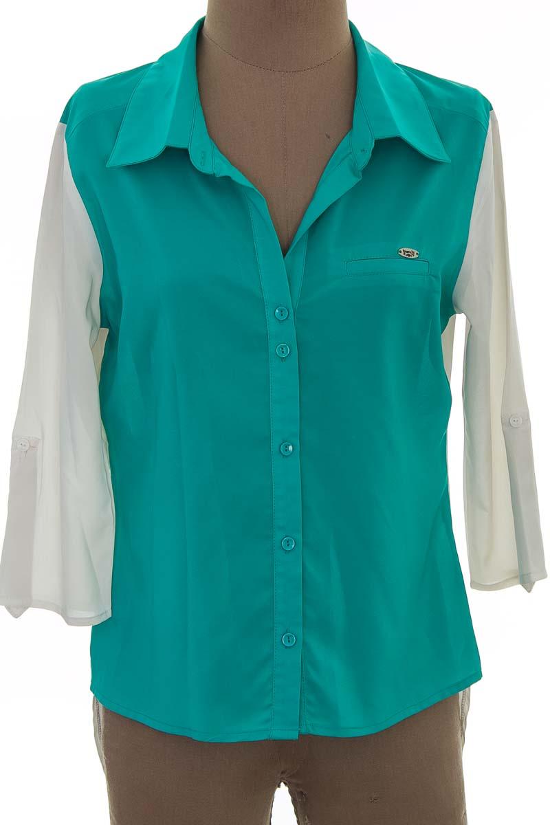 Blusa color Aguamarina - Bianchi