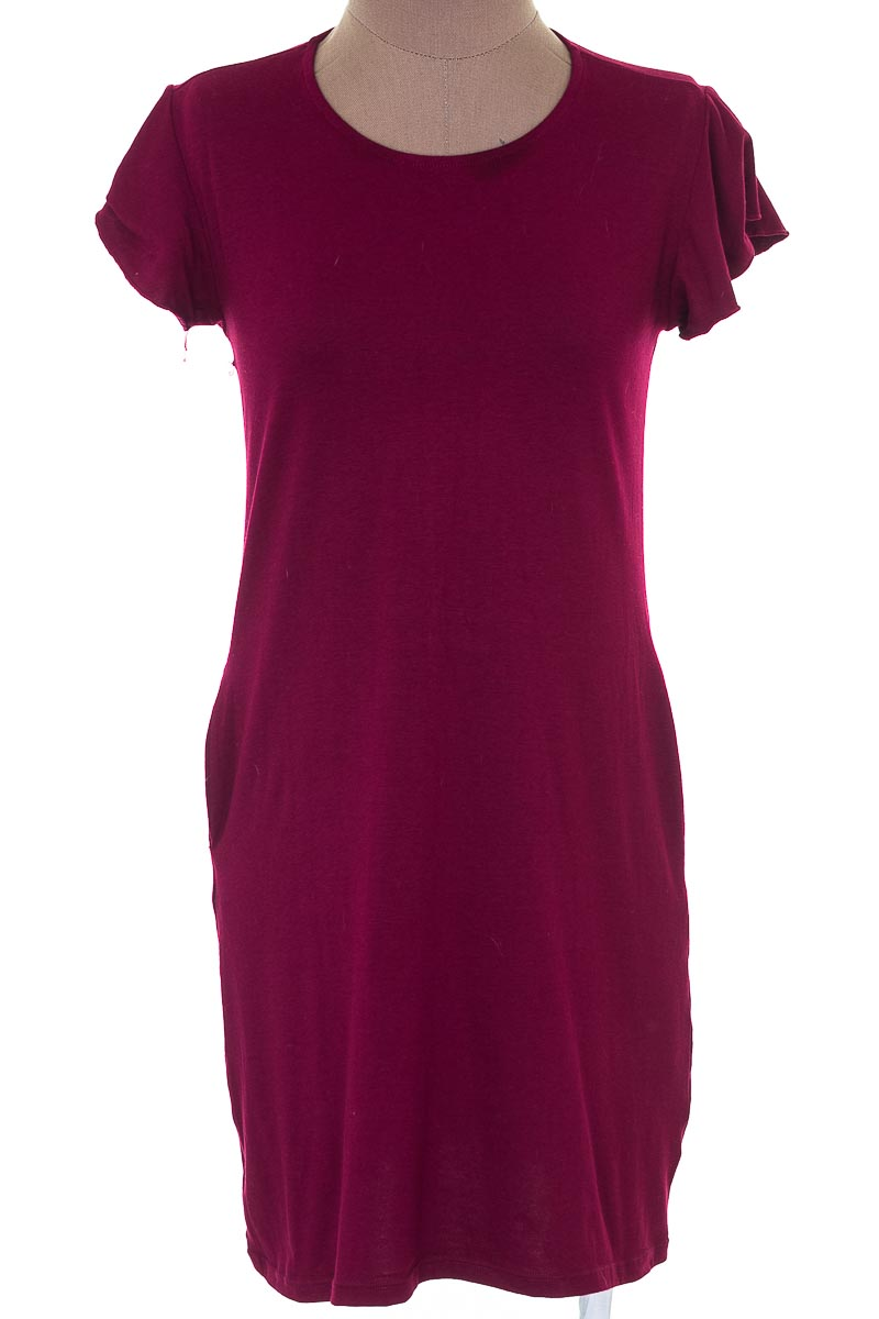 Vestido / Enterizo Casual color Vinotinto - Marketing Personal
