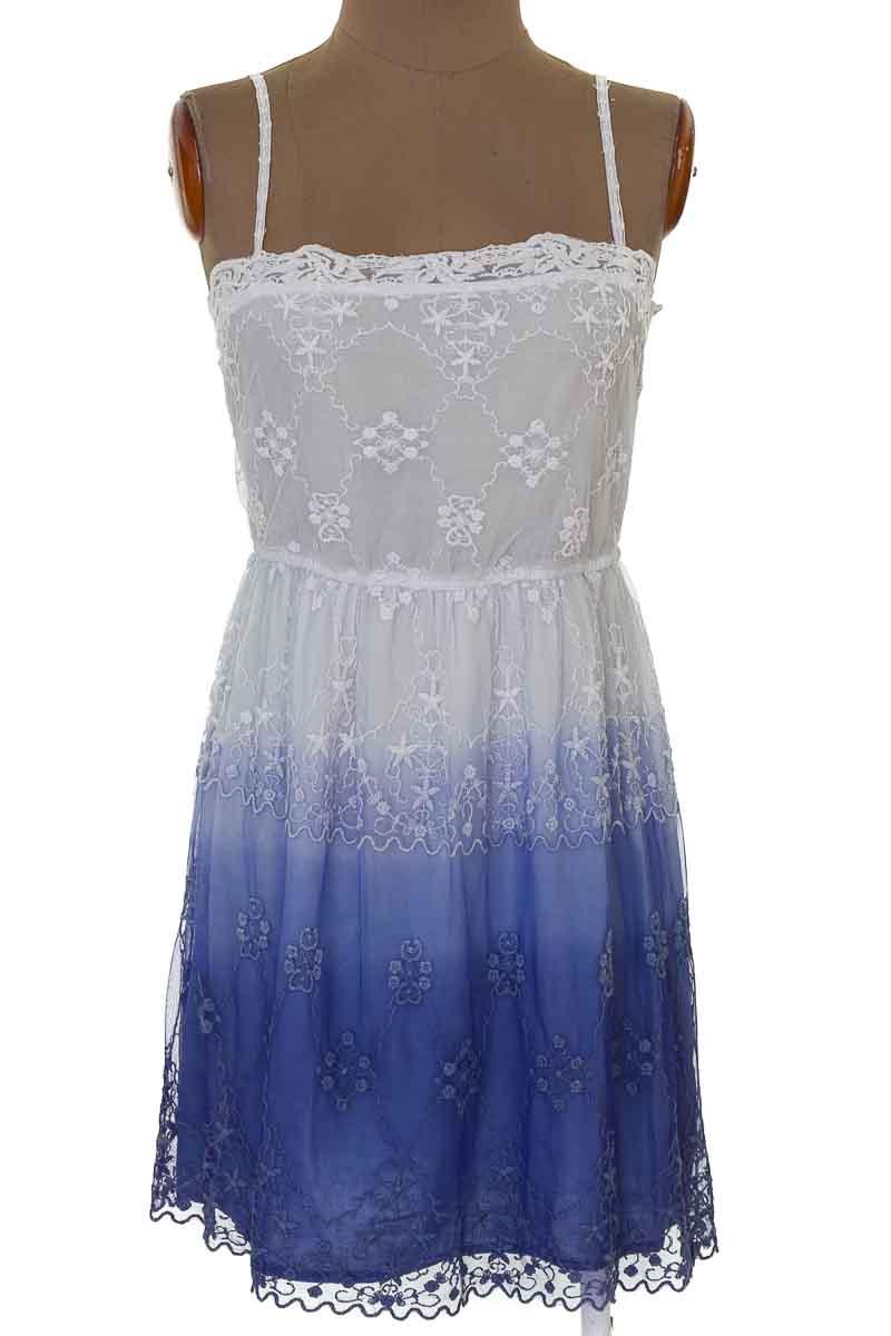 Vestido / Enterizo Casual color Azul - Zara
