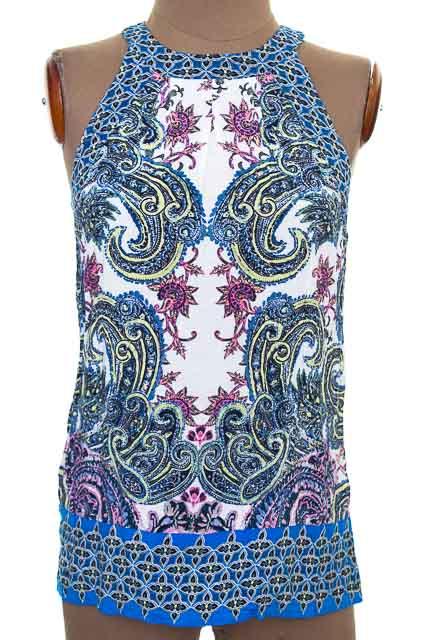 Top / Camiseta color Azul - Warehouse