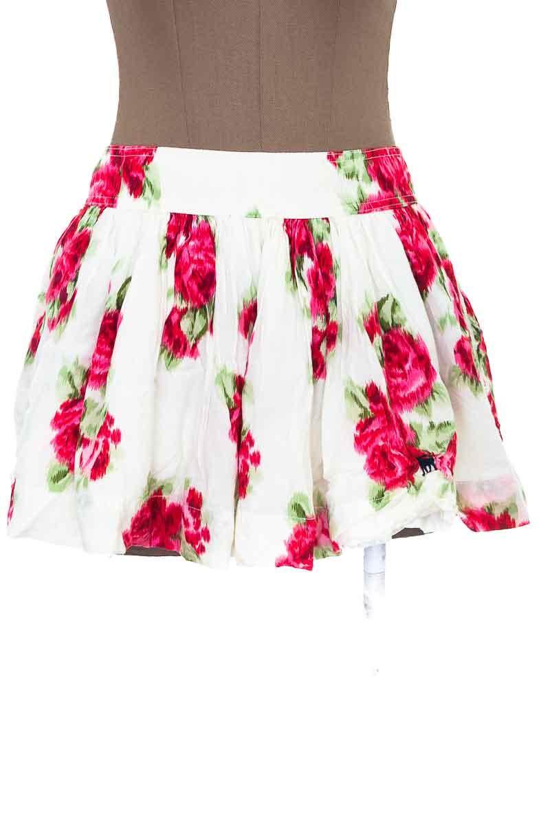 Falda Casual color Beige - Abercrombie
