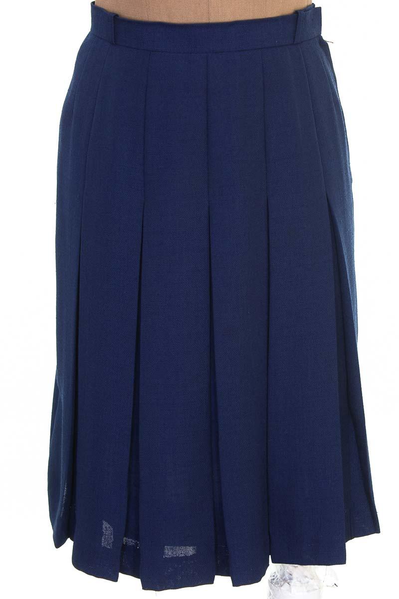 Falda color Azul - Tokyo