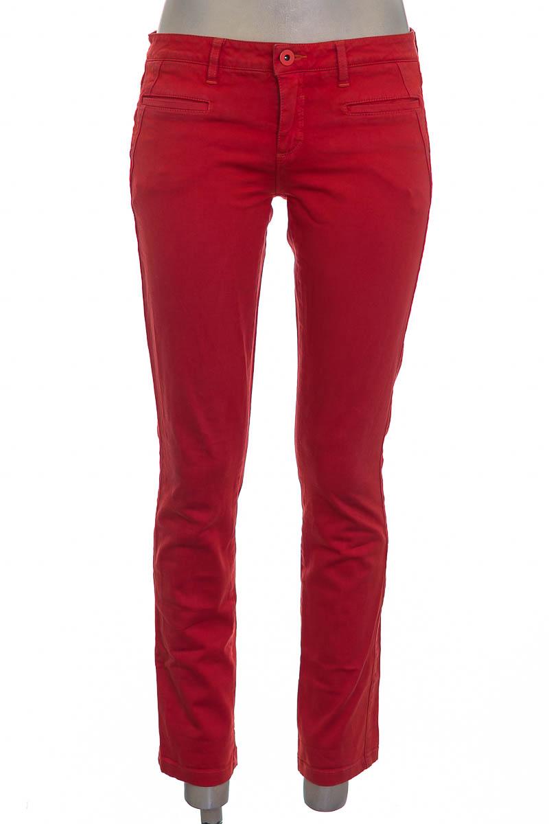 Pantalón color Naranja - NAF NAF