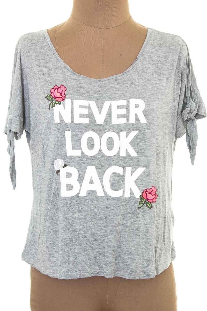 Top / Camiseta color Gris - Sybilla