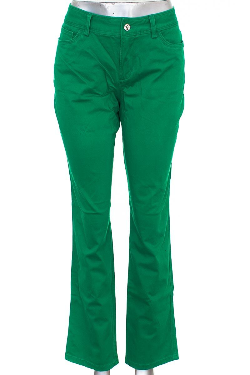 Pantalón Casual color Verde - Dana Buchman