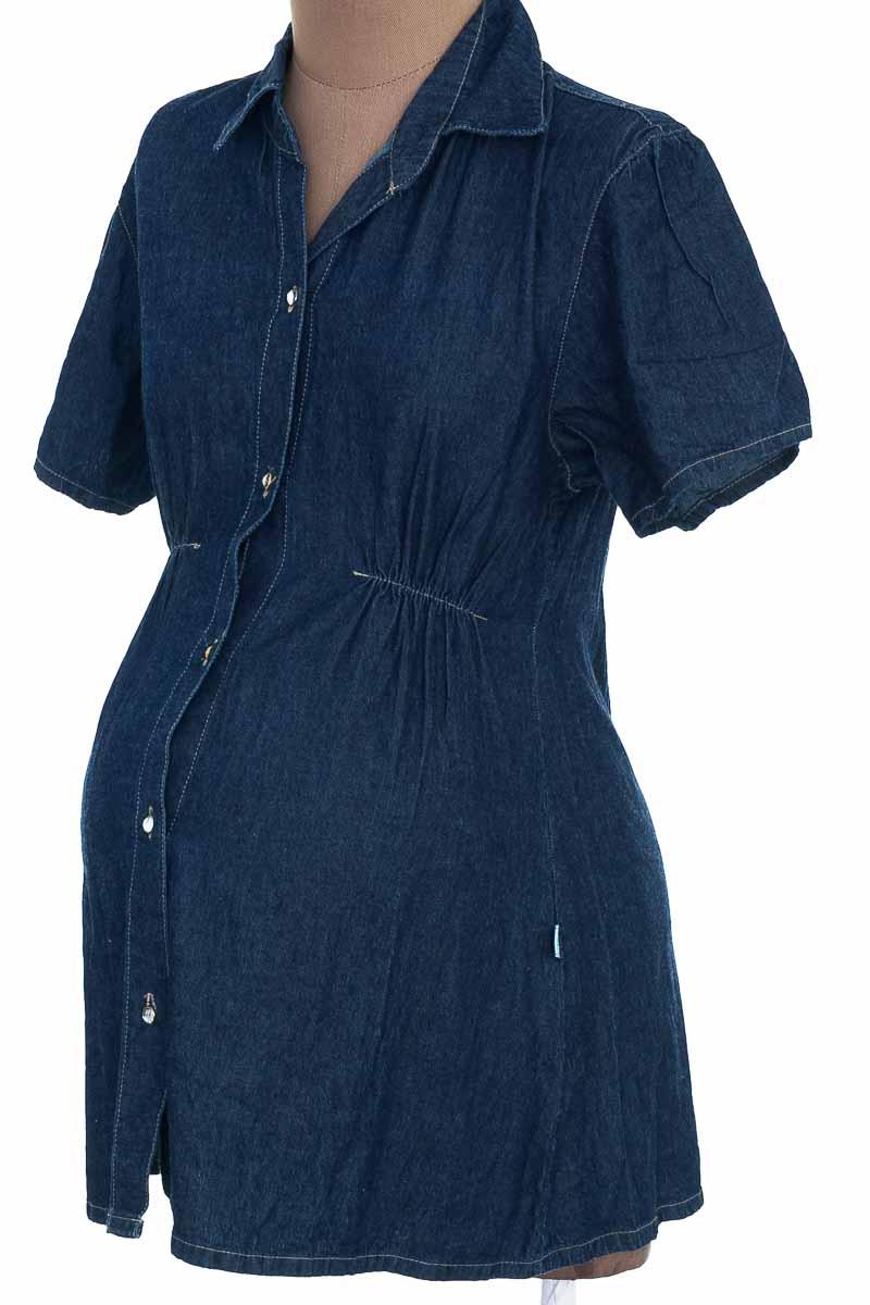 Blusa color Azul - Matiernos