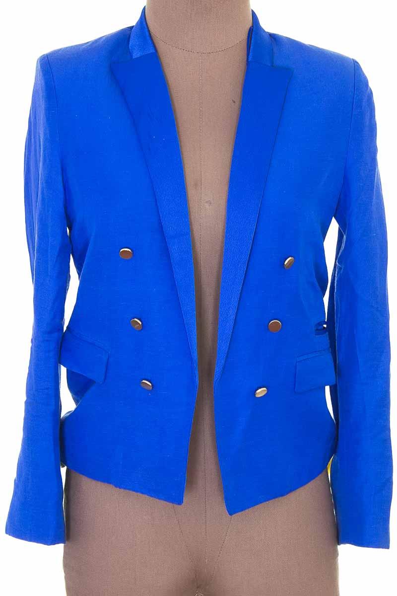 Chaqueta / Abrigo color Azul - MNG