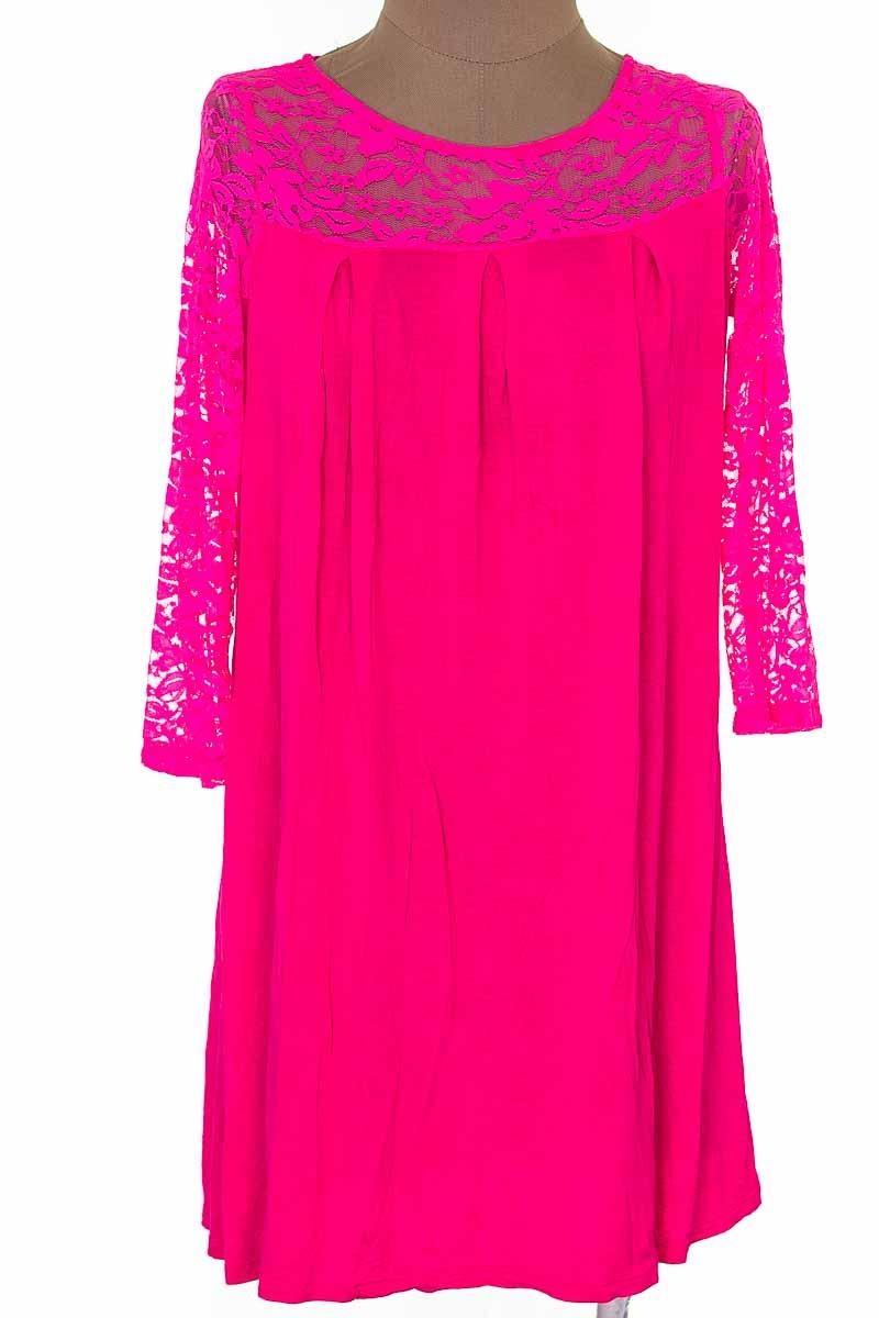 Vestido / Enterizo Casual color Fucsia - Caty Ross